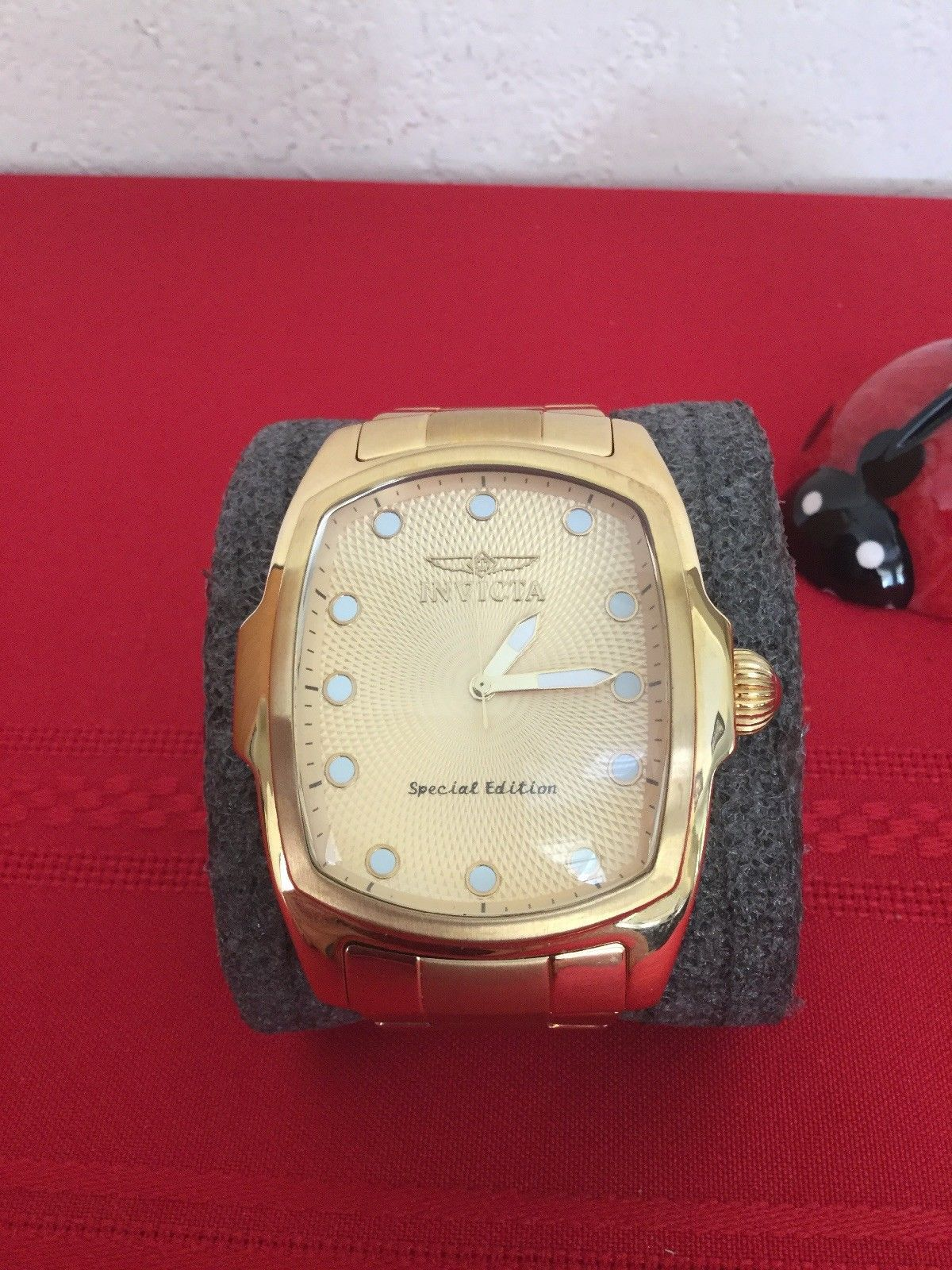 Invicta Men's Lupah Watch Gold 15854 Special Edition Wristwatch - $100.00