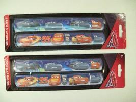 New 2 Pack Disney Cars Slap Rulers Bracelets - $10.73
