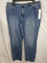 Coldwater Creek Natural Fit Denim Slim Leg Jeans Size 16 NWT - $20.56