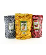 Trader Joe's Freeze Dried Fruit Assortment (Blueberries, Strawberries,Pineapple) - $19.55