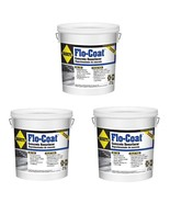 3 Pack Flo-Coat Resurfacer 20 lb. Makes Worn Concrete New Easy To Apply - $100.95