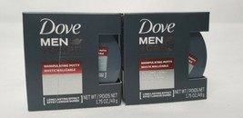 2 Cans Dove Men + Care Hair Manipulating Putty Textured Look Strong Hold 1.75 ea - $9.99