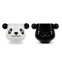 Sleeping Panda Mug Heat Sensitive Color Changing Ceramic Coffee Cup - $18.52