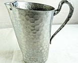 Everlast Forged Hammered Aluminum Water Pitcher 5061 Ice Guard Vintage 8""