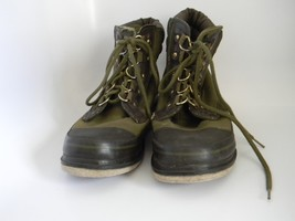 Orvis Mens Green Clearwater Wading Fly Fishing Boots with Felt Sole 2676... - $36.99