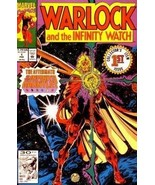 """Warlock and the Infinity Watch Issue 1 """"Judgement"""" (February 1992) [Comic] - $49.49"""
