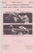 NWA Wrestling Mailer October 1971 Olympic Auditorium Pedro Morales Vintage - $24.74