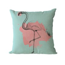 Home Decoration Pilows Code Grabber Bird Decorative Pillows Flamingo Hom... - $165,63 MXN