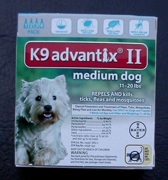 K9 Advantix Ii For Medium Dogs 11 20 Lbs 4pk And Similar Items