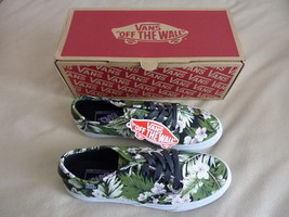 NEW Vans Womens Camden DX Tropic Tropical Flowers Green Shoe Size 9 Free... - $59.37