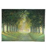 """ Peaceful Strada,Giverny,Francia "" Di Anthony Sidoni 1994 Firmato Olio ... - $3,401.70"
