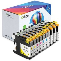 Odoga Compatible 10 Pack LC101 LC103 LC103BK Ink Cartridge Replacement f... - $26.31