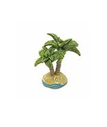 Beach Fairy Island Tree,  Seaside Palm Tree, Coastal Decor, Ocean Fairy ... - $8.99