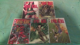 Epic Kill 1-5 Image comics - $5.00