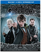 Fantastic Beasts: The Crimes of Grindelwald (Blu-ray + DVD, 2019)
