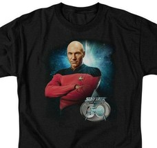 Star Trek The Next Generation 30th Capt Jean-Luc Picard graphic t-shirt CBS2245 image 2