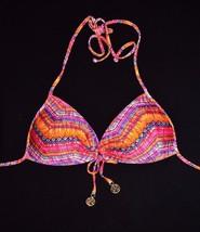 Luli Fama Ron Y Paraiso Bikini Push-Up Top Large L New Swimwear Swim Push Up - $37.23