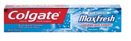 Colgate Max Fresh Cool Mint Whitening Toothpaste, 1.9-oz. - $1.97