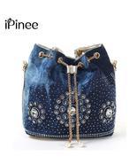 iPinee summer 2019 denim handbags for women. - $59.99