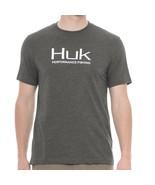 HUK Performance Fishing Gear KScott Logo Tee XXL Dark Gray T-Shirt $25 - $23.74
