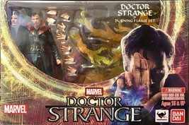 S.H. Figuarts Doctor Strange Action Figure and Burning Flame Set Bandai ... - $79.95