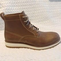 Cole Haan Mens Boots Sz 8 M Brown Hiker Original Grand Waterproof Hawthorn - $86.12