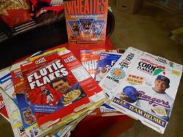 Collectible Set of 18 CEREAL BOXES- Baseball-Basketball-Football-Olympic... - $39.60