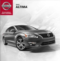 2015 Nissan ALTIMA sales brochure catalog US 15 2.5 3.5 S SV SL - $6.00
