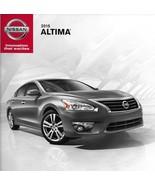2015 Nissan ALTIMA sales brochure catalog US 15 2.5 3.5 S SV SL - $6.00