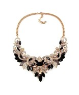 Crystal women brand maxi statement necklaces pendants vintage turkish jewelry necklace thumbtall
