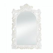 Grand Distressed White Wall Mirror - $45.80
