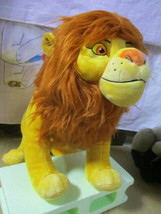 Disney Store The Lion King Simb Plush Stuffed Animal Doll 40cm Big size NEW - $134.29