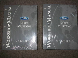 2009 Ford Mustang Gt Cobra Mach Service Shop Repair Manual Set FACTORY - $79.15