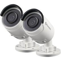 Swann(TM) SWNHD-850PK2-US 5.0-Megapixel Super HD Add-on PoE Bullet Camer... - $363.43