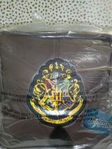 "Harry Potter Hogwarts Floor Pillow Brown 13"" x 13"" x 13""  new with tags STORE image 6"
