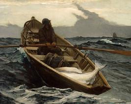 "Winslow Homer-The Fog Warning-1885 8x10"" premium poster paper art print,... - $12.49"