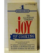The Joy of Cooking: Volume 1 Rombauer, Irma S. and Becker, Marion Rombauer - $4.46