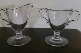 Vintage ~ Imperial Glass ~ Candlewick ~ Creamer & Open Sugar Bowl Set - $30.00