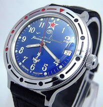 Watch Vostok Komandirskie # 921289 Military New - $49.98
