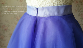 Light-Purple Ballerina Tulle Skirt Girls Plus Size Tulle Tutu Skirt image 7