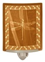 """"""" Dragonfly """" - Fine Porcelain Curved Lithophane Nightlight - $39.31"""