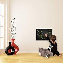 (40'' x 40'') Chalkboard Vinyl Wall Decal For Drawing / Blackboard Waterproof Ad - $57.69