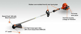 New Echo 21.22cc Cable Drive, Straight Shaft Trimmer, 50% More Torque, S... - $349.99