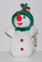 "Ty Beanie Baby Snowgirl Plush 9"" Winter Stuffed Animal Retired with Tag ... - $4.99"