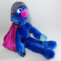 Sesame Street SUPER GROVER Plush Muppet Vintage Henson Applause NWT - $34.00
