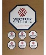 1 REFLECTIVE VECTOR SECURITY YARD SIGN + 6 Door/Window Deals **BRAND NEW** - $17.99