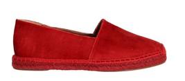 Dolce & Gabbana Women Red Velvet Flats Espadrilles Shoes EU39/US8.5 - $222.22
