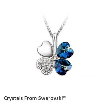 2019 summer style hot sale classic clover necklace with Crystals from Swarovski  image 6