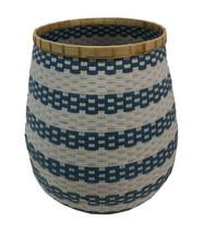 Shilo Blue And White Bamboo Basket Storage - $163.93