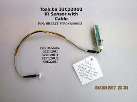 Toshiba IR Sensor 75028870 | 454C3C51L01 | VTV-SR40613 with cable [See List] - $18.00